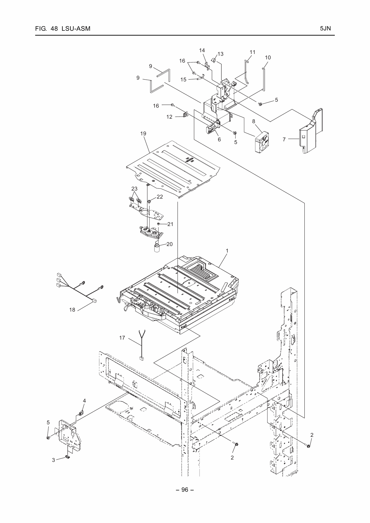 KYOCERA ColorMFP TASKalfa-550c 650c 750c Parts Manual-6